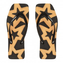 Carved Star Black/Gold -...