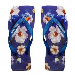 Flower Light Blue - Size 43/44